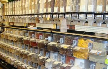 Bulk grocery foods